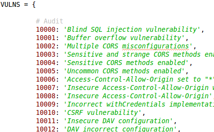 SQL injection, Cross-Site scripting and much more
